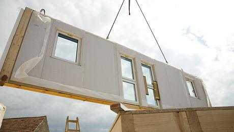Madhaus Prefab Symatic Housing Wall Elem