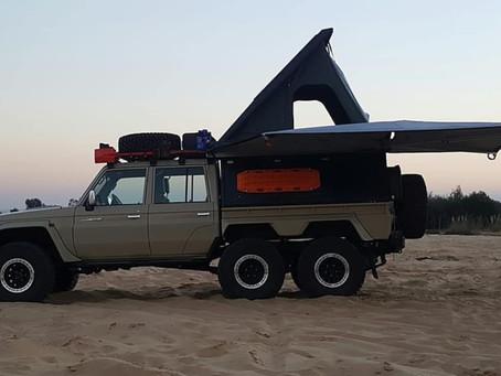 Alu-cab 6-Wheeler Toyota Landcruiser