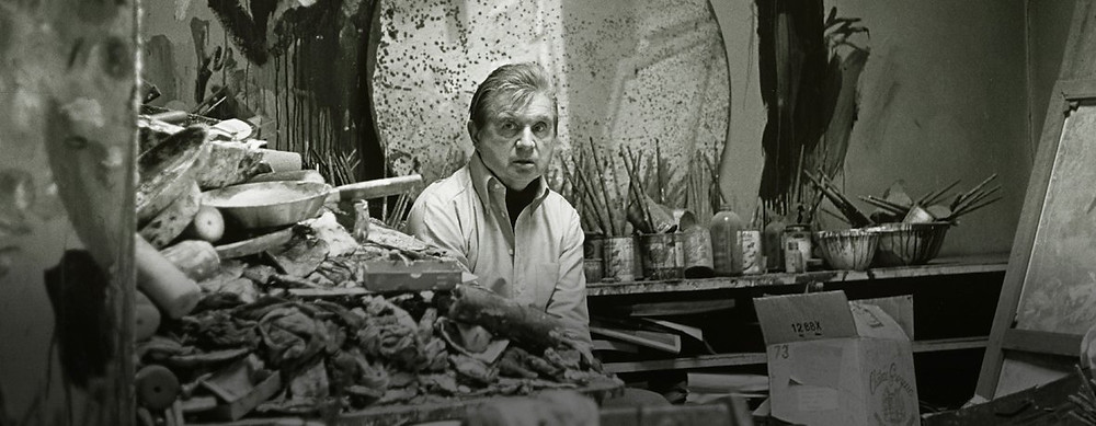 Francis Bacon painting studio london