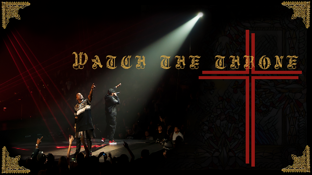 watch the throne kanye west jay-z art