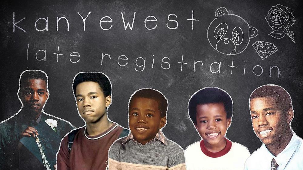 late registration kanye west art