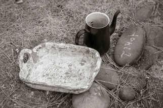 陶のトレイ