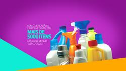 distribuição produtos limpeza