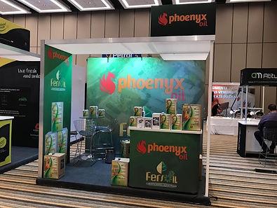 congresso ercom ealub stand phoenyx oil.