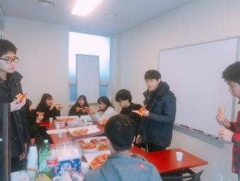1월 특식타임(피자&치킨)