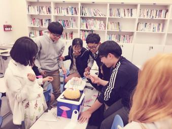배움누리 생일파티