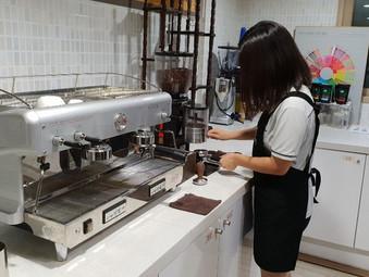 직업체험멘토링 바리스타자격증반, 전원 2급 취득!