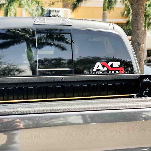 AXE CAR DECAL