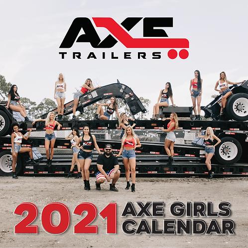 2021 AXE GIRLS CALENDAR