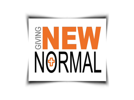 NEW NORMAL: GIVING