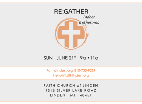 RE:GATHER | JUNE 21, 2020