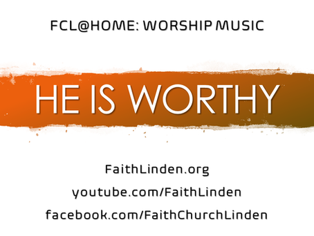 FCL@HOME: WORSHIP MUSIC