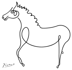 Horse - Picasso