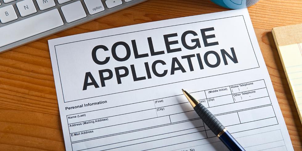 College Admissions Webinar 2 (English)