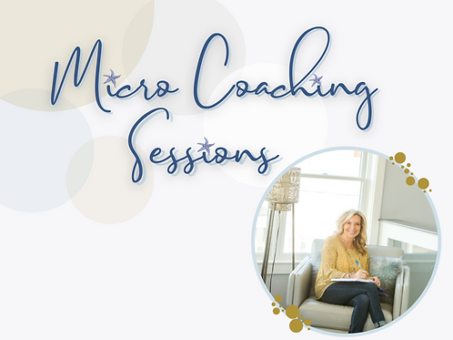 Micro Coaching Sessions