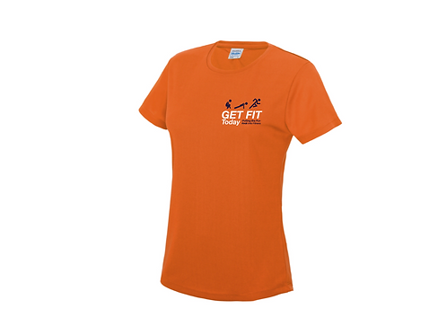 Ladies Branded Sports T-Shirt