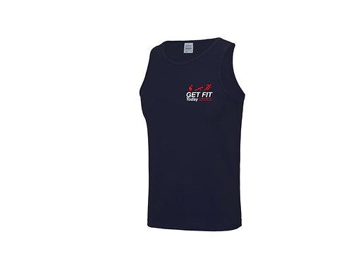 Mens Branded Sports Vest