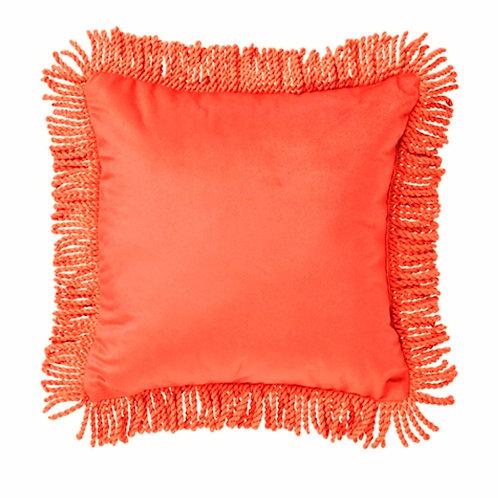 Orange Boho Fringe