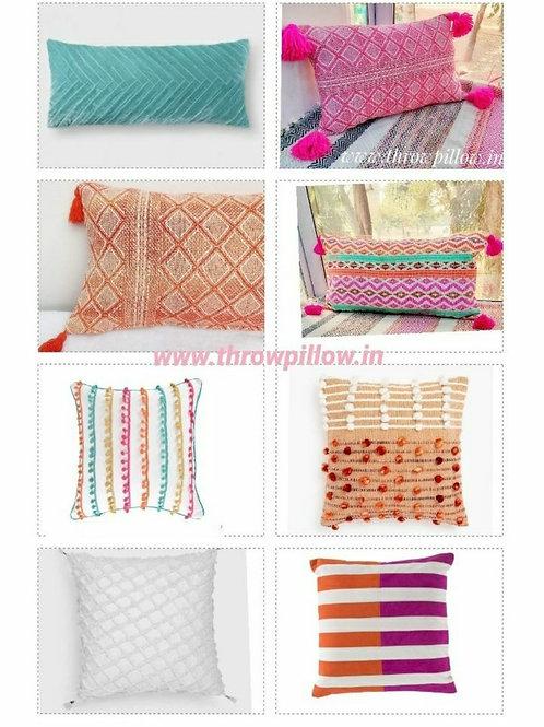 Colour Me Cushion Set- 8 Cushions