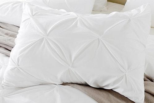 White Swan Cross Rectangular Cotton Cushion
