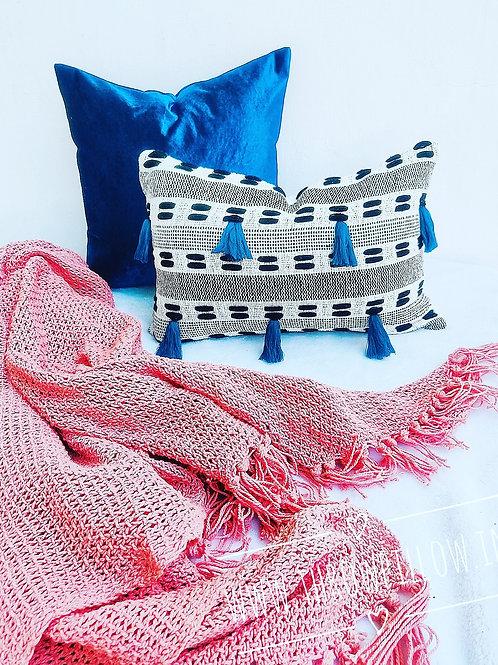 Teal Rectangular Cushion Cover