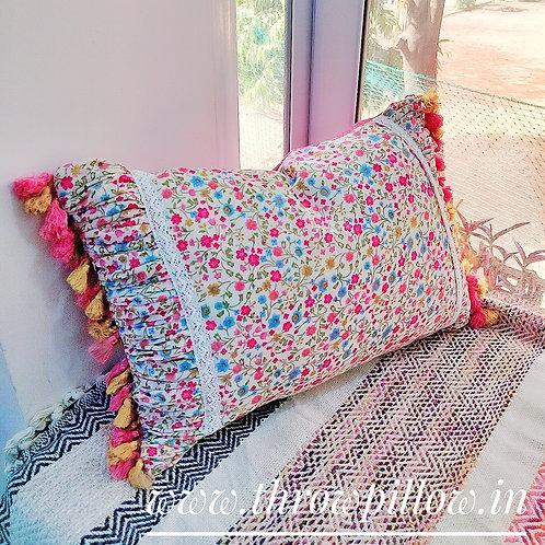 Floral chintz Cushion Cover