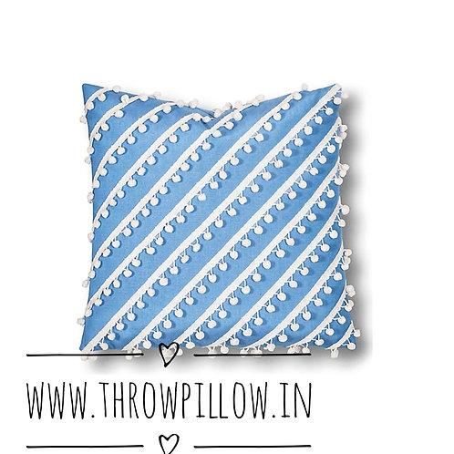 Blue Manhattan Cushion Cover