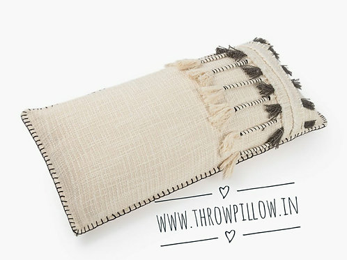 Catori Neutral Boho Rectangular Cushion