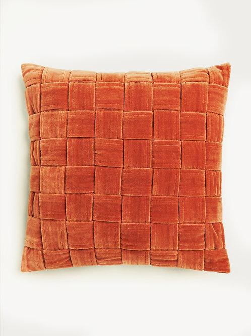 Apricot Velvet Cushion Cover