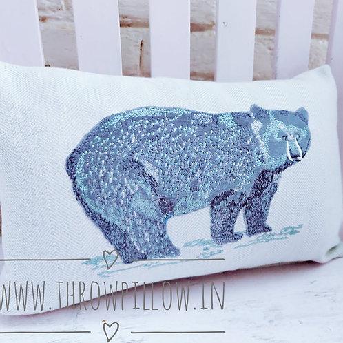 Bear Rectangular Cushion