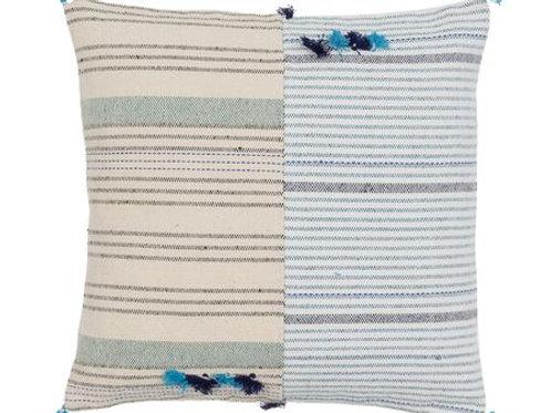 Blue Tango cushion cover