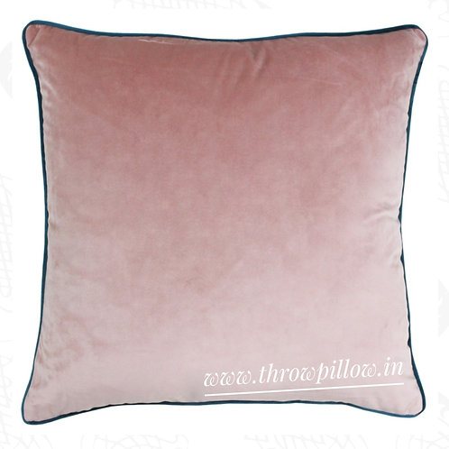 Blush Teal Luxe Cushion Cover