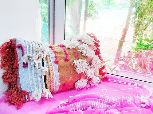 Boho Chic Rectangular Cushion Cover