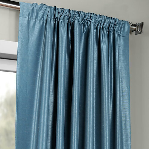 Glossy Solid Curtain
