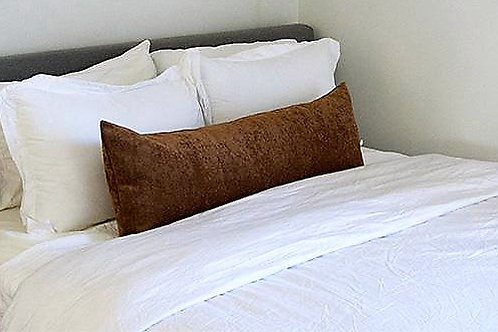 Extra Long Rectangular Cushion- Brown