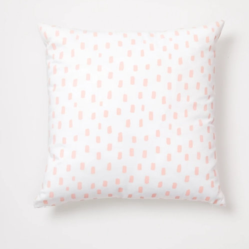 Pink Rain Drop Cushion