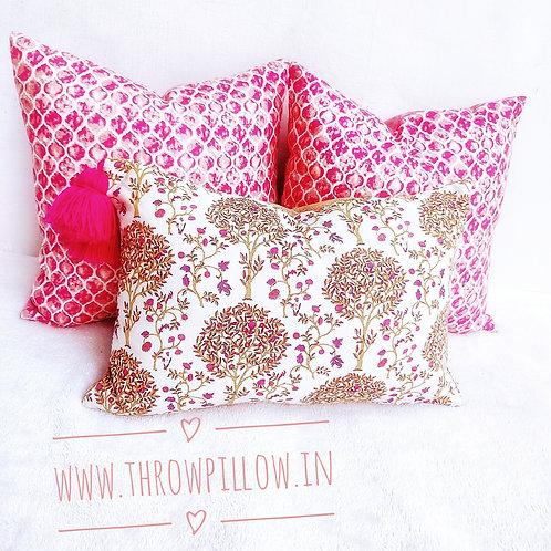 Tree of Life Rectangular Cushion Cover