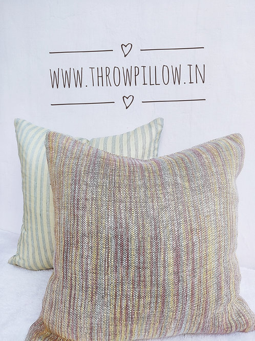Multicolored Set of 4 Cushion Covers