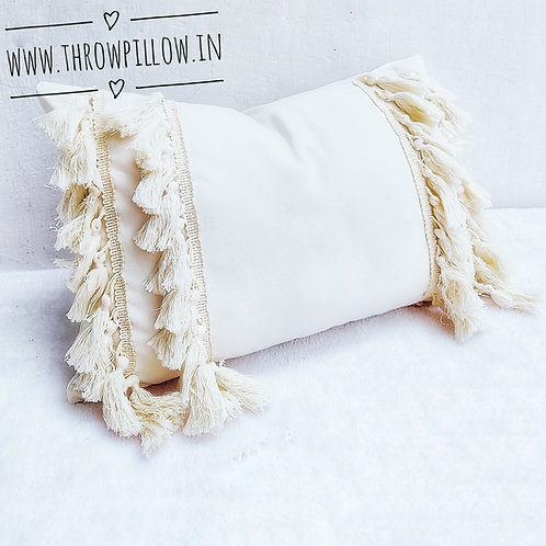 Tassel Queen Rectangular Cushion Cover