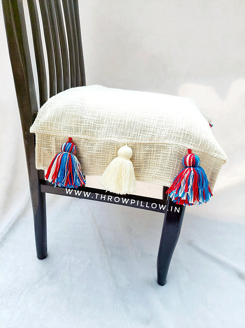 Neutral Dining Chair Cover