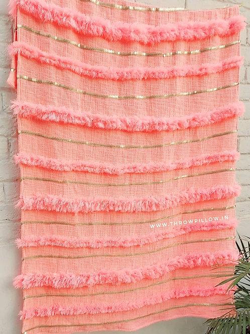 Moroccan Wedding Blanket Throw