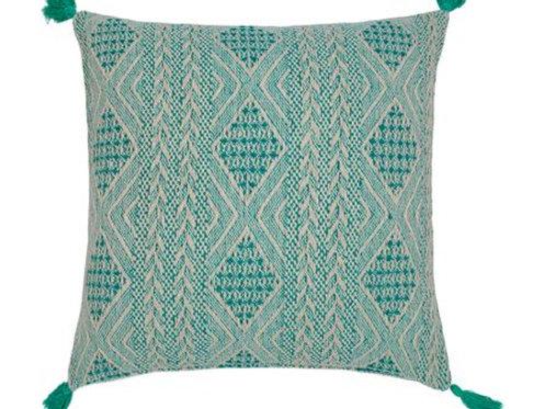 Mediterranean green Cushion Cover