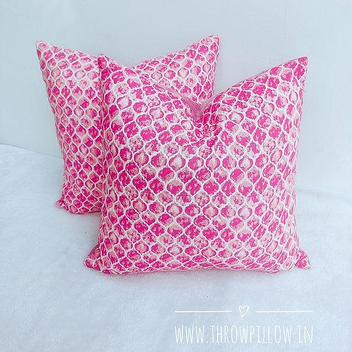 Pink Isabella Throwpillow