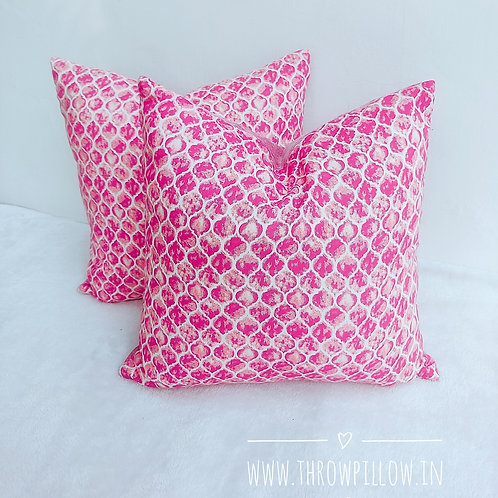 Pink Isabella Cushion Cover
