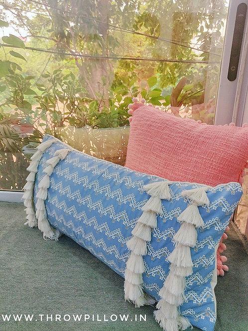 Tassel Queen Cushion Cover