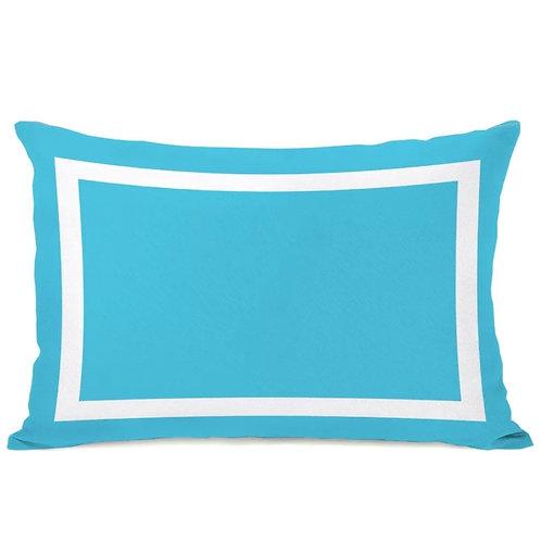 Austin Blue Lumbar Cushion Cover