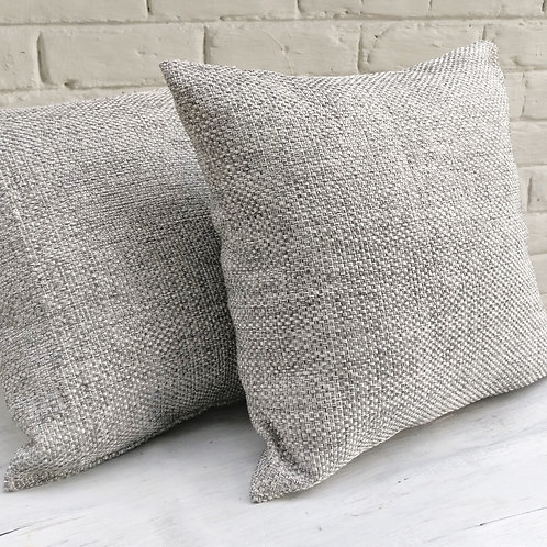 Light Grey Throw Pillow