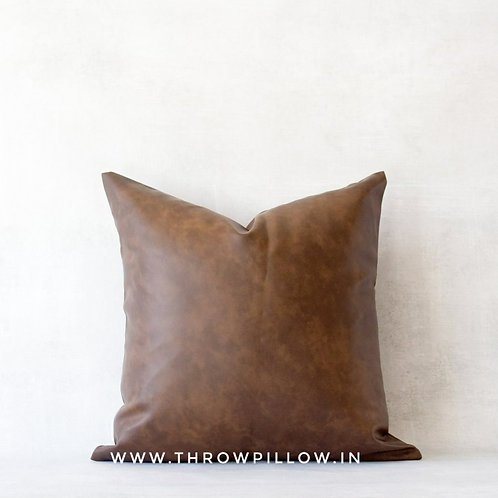 Faux Leather Cushion