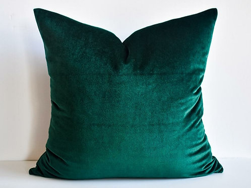 Luxe Forest Green Cushion Cover