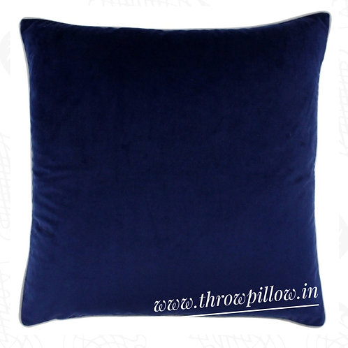 Navy Blue Luxe Cushion Cover